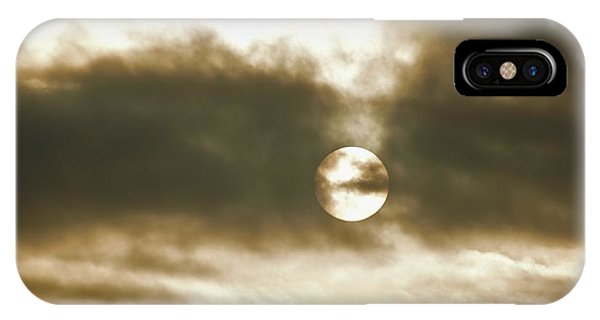 Cloudy Sun IPhone Case