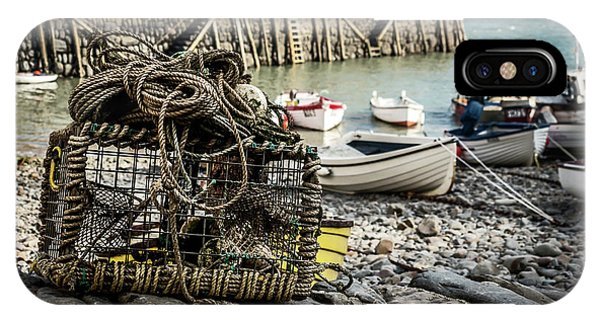 Clovelly Crab Trap IPhone Case