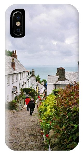 Clovelly High Street IPhone Case