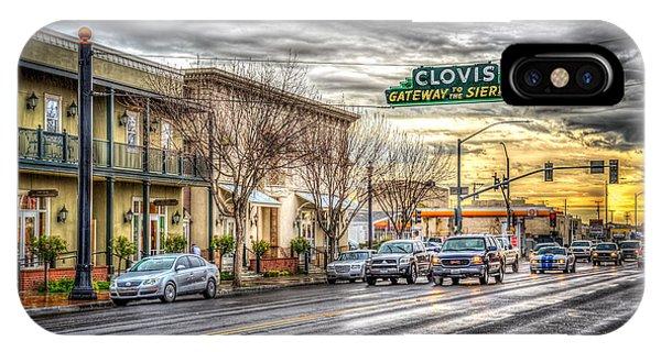 Clovis California IPhone Case