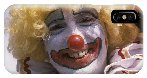 IPhone Case featuring the photograph Clown-1 by Donald Paczynski