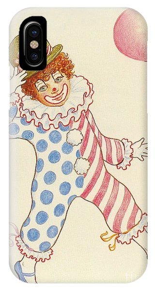 Clowning Around At The Kiddie Parade IPhone Case