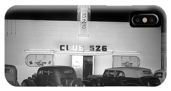Club 526  Henry Franci, Salinas 1941 IPhone Case