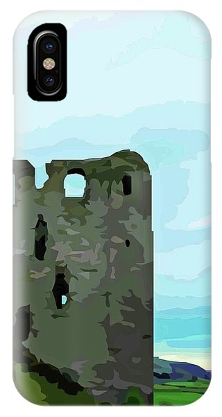 Clun Castle IPhone Case