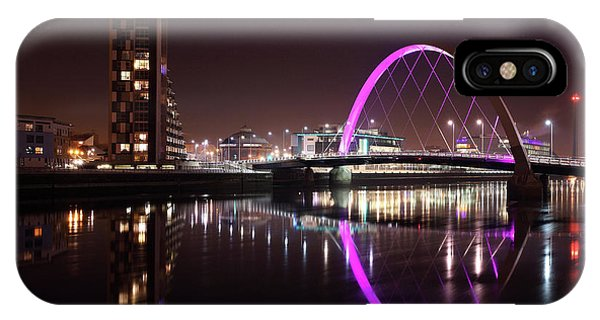 Clyde Arc Night Reflections IPhone Case