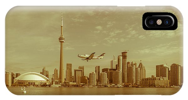 Cn Tower Drive-by IPhone Case
