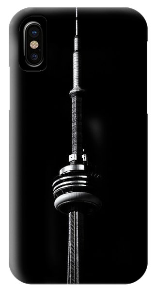 Cn Tower Toronto Canada No 1 IPhone Case