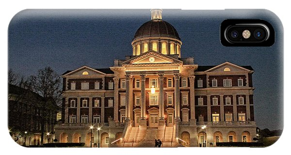 IPhone Case featuring the photograph Christopher Newport Hall At Christopher Newport University by Ola Allen