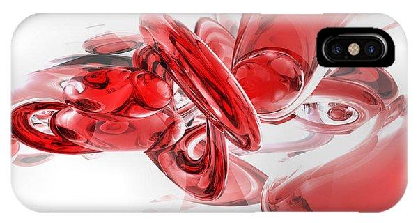 Digital Image iPhone Case - Coagulation Abstract by Alexander Butler