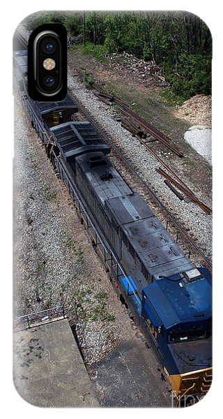 Coal Crossing IPhone Case