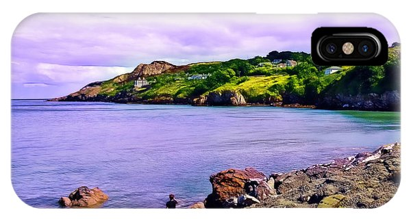 Rocky Coast At Howth IPhone Case