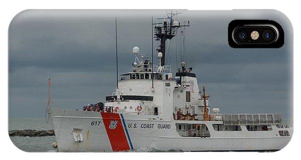 IPhone Case featuring the photograph Coast Guard Cutter Vigilant by Bradford Martin