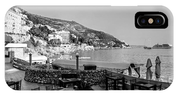 Coast Of Dubrovnik IPhone Case