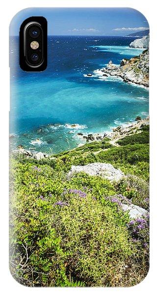 Greece iPhone X Case - Coast Of Greece by Jelena Jovanovic