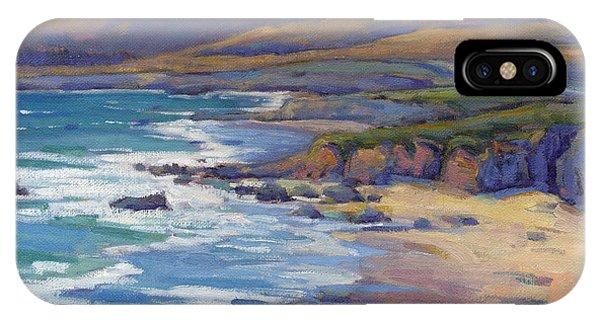 Coastal Cruising 8, San Simeon IPhone Case