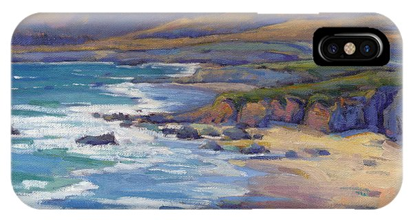 Coastal Cruising 8 / San Simeon IPhone Case