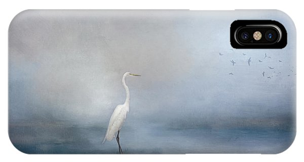 Coastal Egret IPhone Case