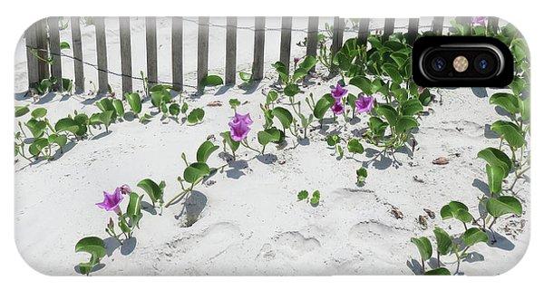 Coastal Flowers IPhone Case