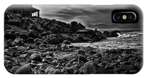 George Bush iPhone Case - Coastal Home  Kennebunkport Maine by Bob Orsillo