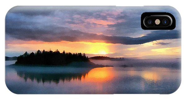 Coastal Maine Sunset IPhone Case