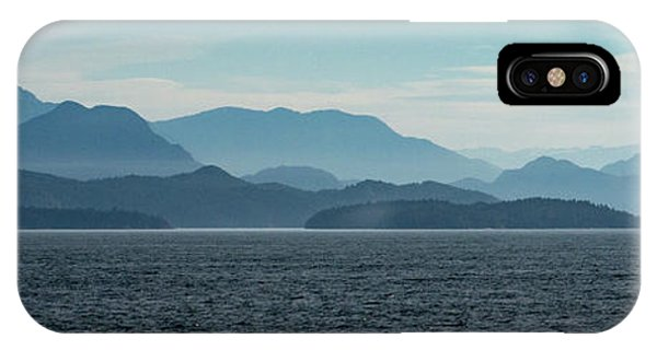 Coastal Mountains IPhone Case