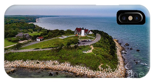Coastal Nobska Point Lighthouse IPhone Case