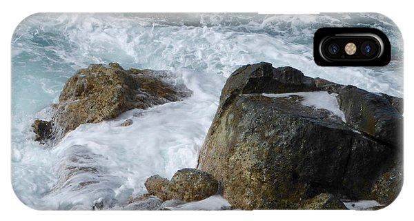 Coastal Rocks Trap Water IPhone Case