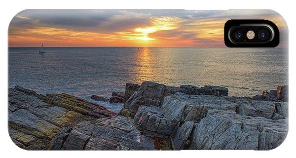 Coastal Sunrise On The Cliffs IPhone Case