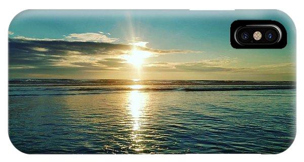 Coastal Sunset Phone Case by Frederick Messner