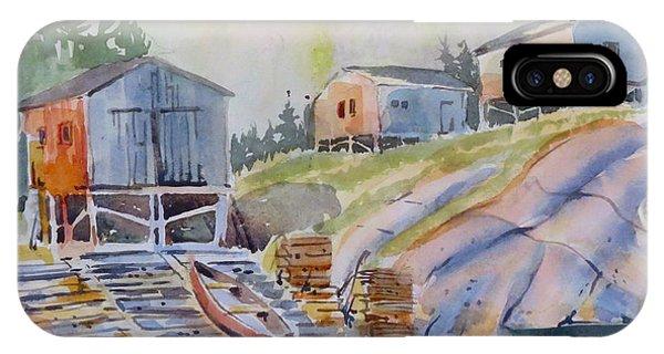 Coastal Village - Newfoundland IPhone Case