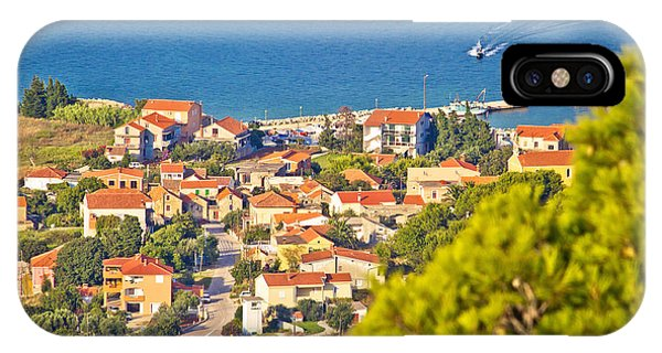 Coastal Village On Island Of Pasman IPhone Case