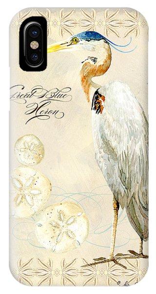 Coastal Waterways - Great Blue Heron IPhone Case