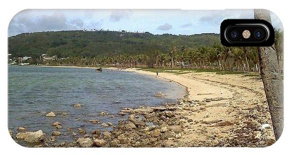 Coastline In Guam II IPhone Case