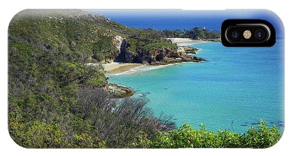 Coastline Views On Moreton Island IPhone Case