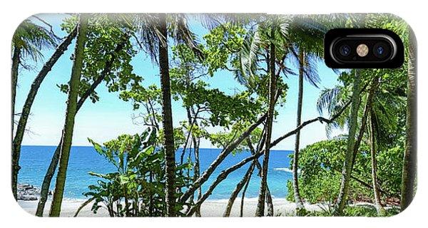 Coata Rica Beach 1 IPhone Case