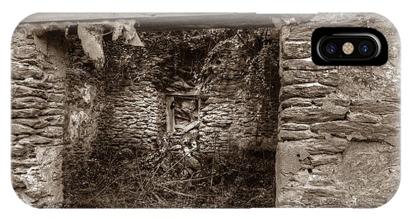 IPhone Case featuring the photograph Coatesville Ruins 2 by Michael Kirk