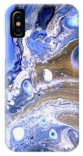 Cobalt Blue Abstract Seascape IPhone Case