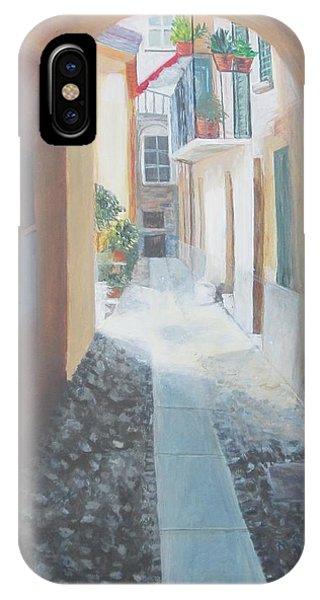 Cobblestone Alley IPhone Case