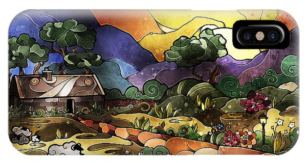 The Shepherd's Cottage IPhone Case