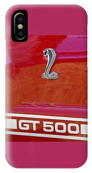 Cobra Gt 500 Emblem IPhone Case