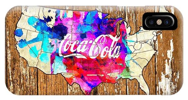 Coca Cola America IPhone Case