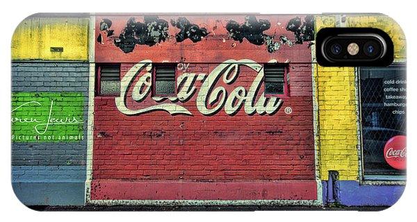 Coca-cola Building IPhone Case