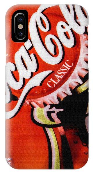 Coca Cola Classic IPhone Case