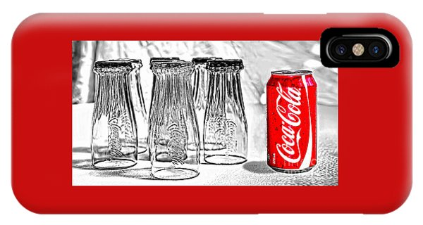 Coca-cola Ready To Drink By Kaye Menner IPhone Case