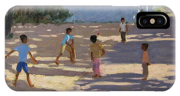 Cricket iPhone Case - Cochin by Andrew Macara
