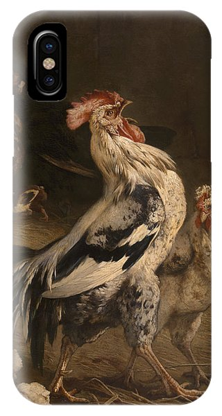 King Charles iPhone Case - Cock by Charles Verlat