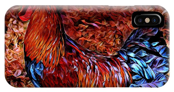 Cock Rooster IPhone Case