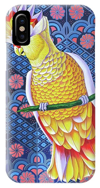 Cockatoo iPhone Case - Cockatoo by Jane Tattersfield