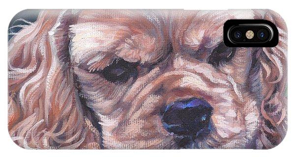 Cocker Spaniel iPhone Case - Cocker Spaniel Puppy by Lee Ann Shepard