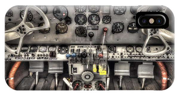 Cockpit IPhone Case
